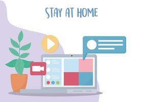 Online-Meeting-Zusammensetzung