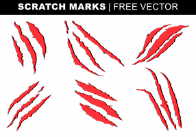Scratch Marks Gratis Vector