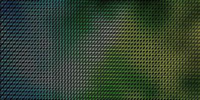 dunkelblauer und grüner Hintergrund mit Linien. vektor