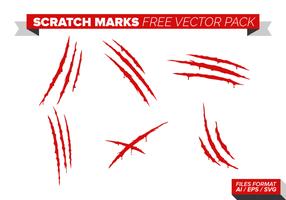 Skrapmärken Gratis Vector Pack