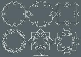 Vector Line Style Monogramme
