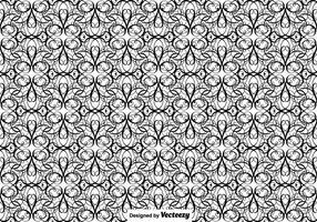 Illustrationen Vector Flourish Seamless Pattern