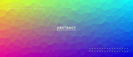 geometrischer Hintergrund der abstrakten Polygonform vektor