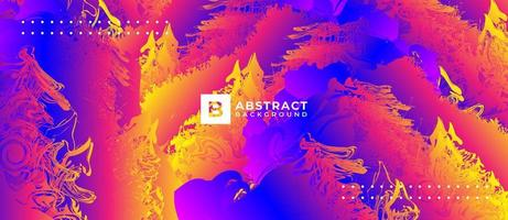 Neon abstrakte Hintergrundprämie vektor