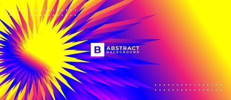 abstrakter Hintergrund mit Farbverlauf vektor