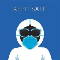 Kleidung für Biosicherheitsanzüge