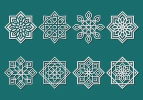 Islamic prydnad vektor