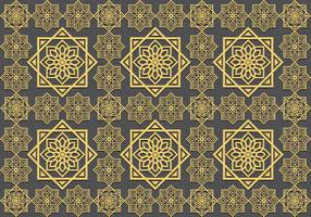 Islamische Ornament Seamless Pattern vektor