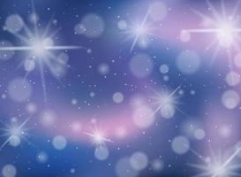 suddig stjärnklar gnistrande bakgrund
