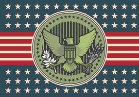 Adler-Siegel Abbildung Logo Vektor