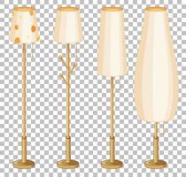 uppsättning lampor