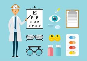Ögonläkare och Toosl vektorer