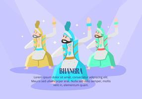 Bhangra Hintergrund vektor