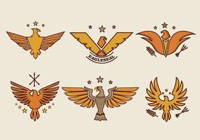 Eagle-Seal Smbol Logo Vector
