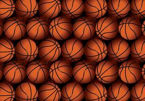 Vector Basketball Texture