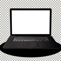 Laptop oder Computer isoliert vektor