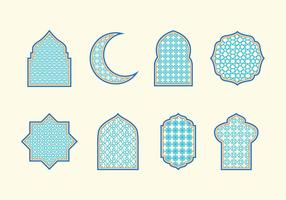 Islamiska Ornaments vektor