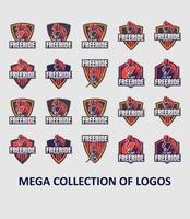 cykel logotyp mall samling