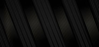 abstrakter geometrischer Hintergrund des diagonalen schwarzen Streifens