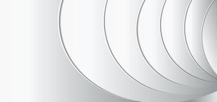abstrakt mall vit och grå geometrisk bakgrund