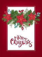 Frohe Weihnachten Party Einladungsvorlage
