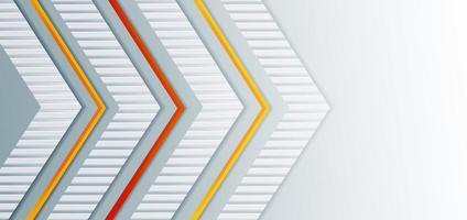 abstrakt mall med pilar vektor
