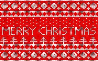 jacquardmönster till jul