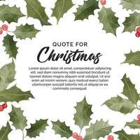 blommig banner för jul