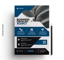 multifunktionell företagsreklamblad