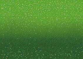 grön bakgrund med glittrar och gnistrar