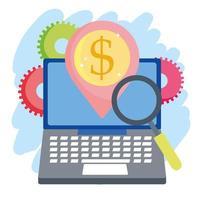 onlinebetalning och e-handelssammansättning