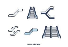 rulltrappa vektor