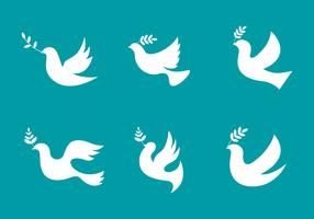 Einfache Paloma Logo Vector