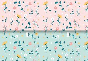Freie Vintages Blumenmuster vektor