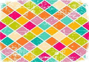 Bunte Zerkratzt Muster-Hintergrund vektor
