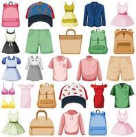 Mode-Outfits eingestellt vektor