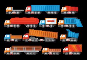 Camion Ikoner Vector
