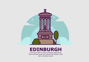 Edinburgh bakgrund vektor