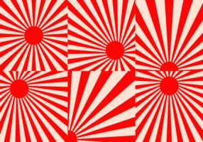 Kamikaze bakgrund Vector