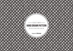 Hand gezeichnete Art-Muster-Hintergrund vektor