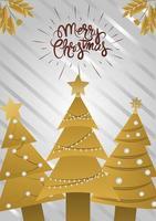 Deluxe Weihnachtsgrußkarte