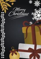 lyxigt julkort