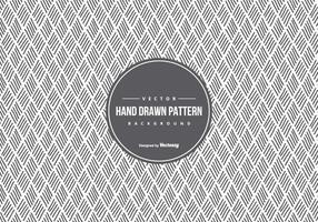 Nette Hand gezeichnete Muster-Hintergrund vektor