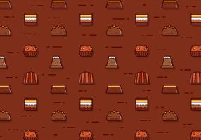 Freie Schokoladen-Vektor