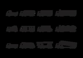 Camion siluetter vektor