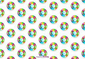 Vektor Colorful STRASS bakgrund