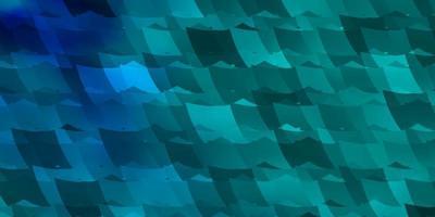 blauer und grüner Hintergrund mit Formen.