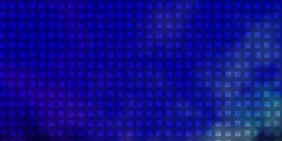 blått mönster i fyrkantig stil. vektor