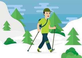 Nordic Walking Vektor