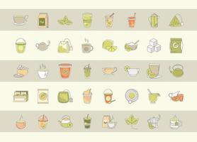 Teezeit Icon Set